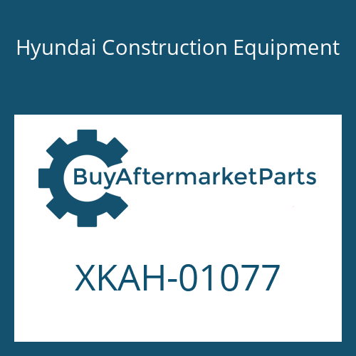 Hyundai Construction Equipment XKAH-01077 - SEAL KIT