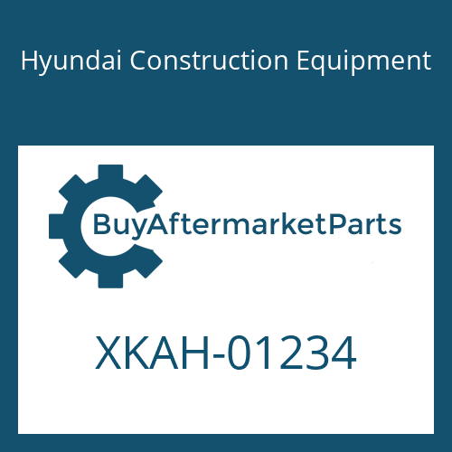 Hyundai Construction Equipment XKAH-01234 - VALVE-CHECK