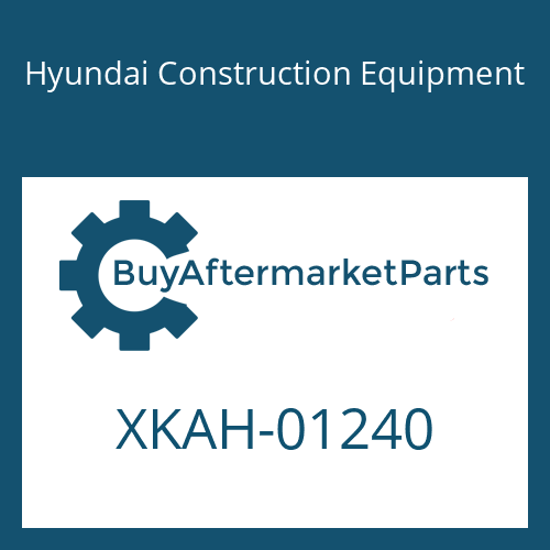 Hyundai Construction Equipment XKAH-01240 - PLATE