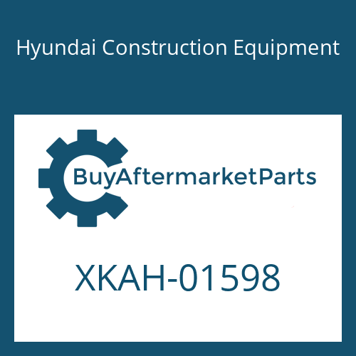 Hyundai Construction Equipment XKAH-01598 - PLUNGER ASSY