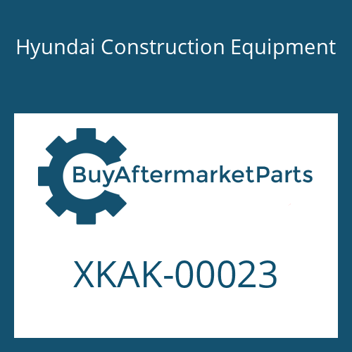 Hyundai Construction Equipment XKAK-00023 - RETAINER-SPRING