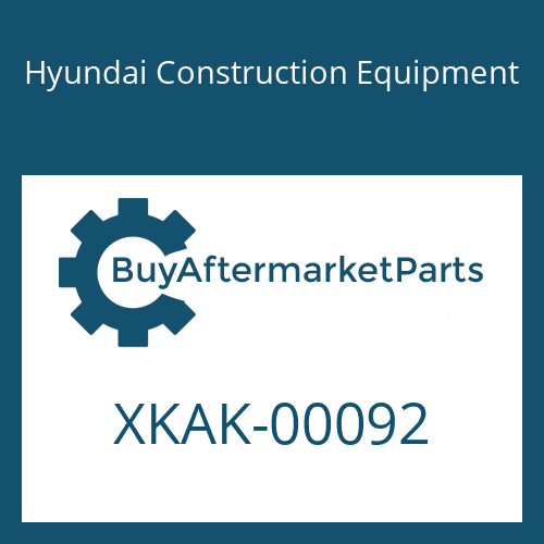 Hyundai Construction Equipment XKAK-00092 - SPRING-MAIN SMALL