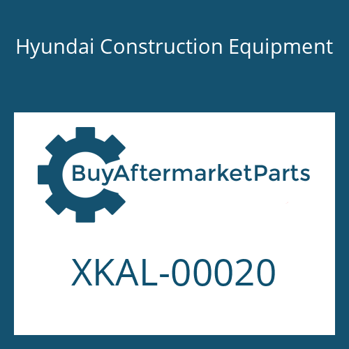 Hyundai Construction Equipment XKAL-00020 - MANIFOLD