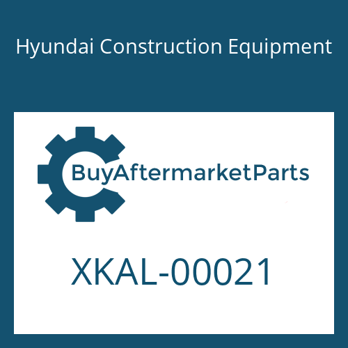Hyundai Construction Equipment XKAL-00021 - VALVE-LOGIC