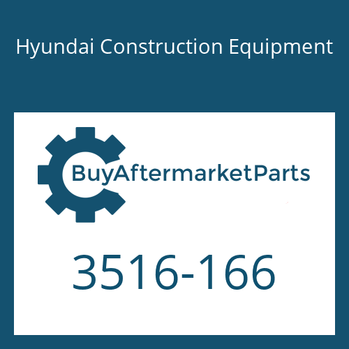 Hyundai Construction Equipment 3516-166 - SLEEVE