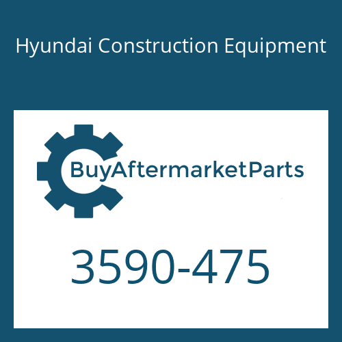Hyundai Construction Equipment 3590-475 - SPRING