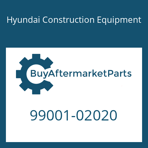Hyundai Construction Equipment 99001-02020 - PLUG-SHIPPING