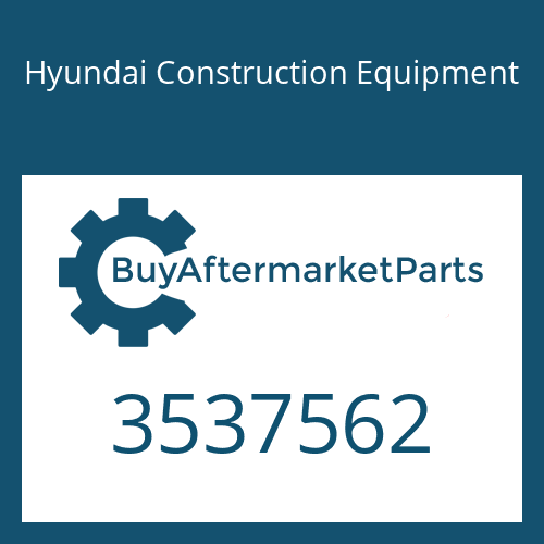 Hyundai Construction Equipment 3537562 - Turbocharger
