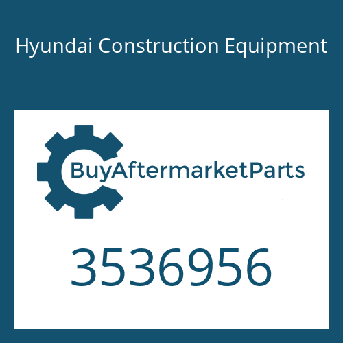 Hyundai Construction Equipment 3536956 - HOUSING