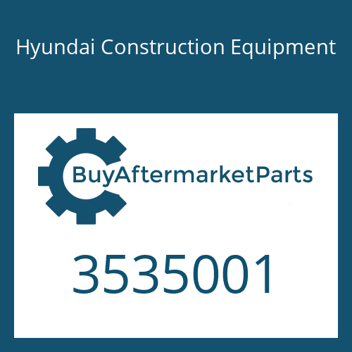 Hyundai Construction Equipment 3535001 - Gasket-Tubocharger