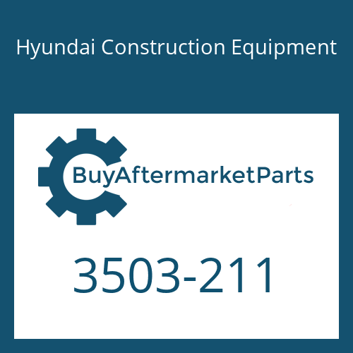 Hyundai Construction Equipment 3503-211 - Cover