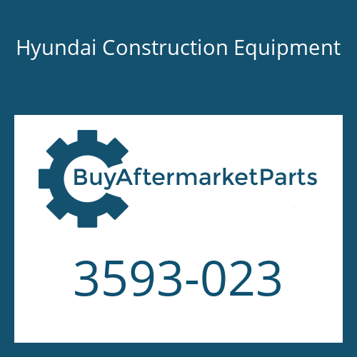 Hyundai Construction Equipment 3593-023 - Guide-Spring