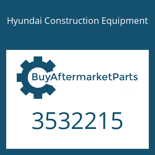 Hyundai Construction Equipment 3532215 - Bearing