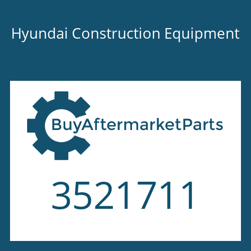 Hyundai Construction Equipment 3521711 - IMPELLER-TURBO