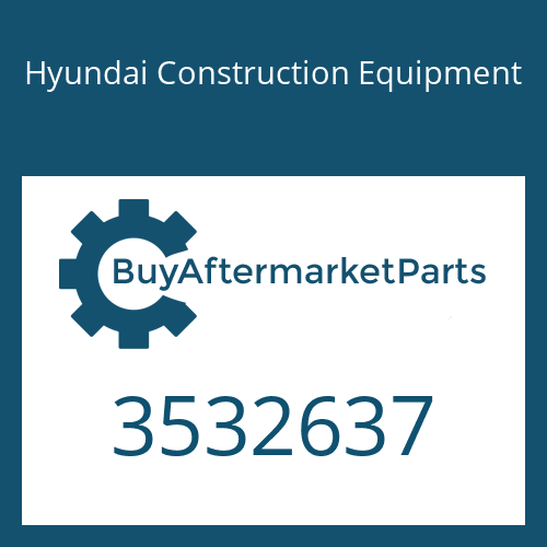 Hyundai Construction Equipment 3532637 - Plate-Clamping
