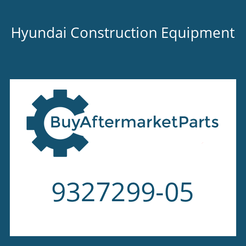 Hyundai Construction Equipment 9327299-05 - BOLT