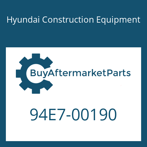 Hyundai Construction Equipment 94E7-00190 - DECAL-LIFT CHART