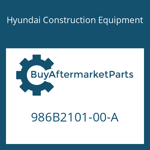 Hyundai Construction Equipment 986B2101-00-A - Rear Flange Kit