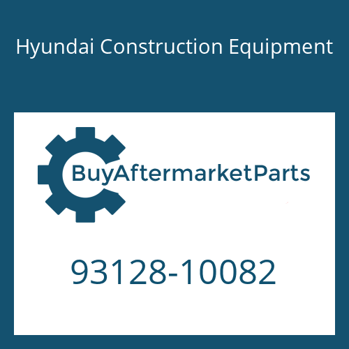 Hyundai Construction Equipment 93128-10082 - Nut