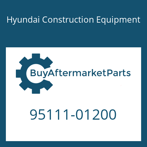 Hyundai Construction Equipment 95111-01200 - O-RING