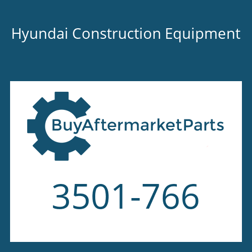 Hyundai Construction Equipment 3501-766 - HOUSING