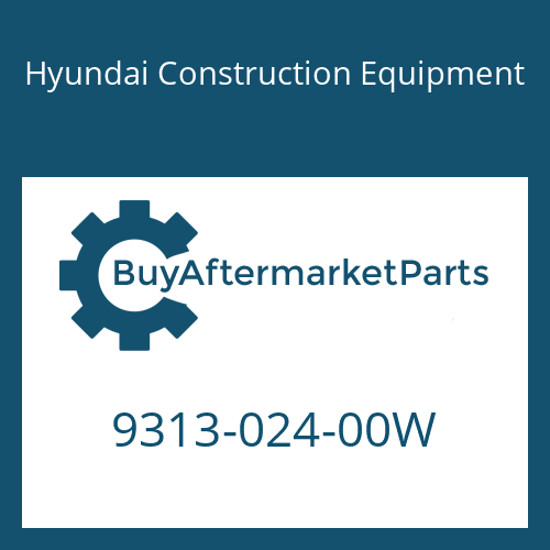 Hyundai Construction Equipment 9313-024-00W - O-Ring