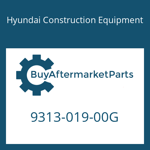 Hyundai Construction Equipment 9313-019-00G - O-Ring