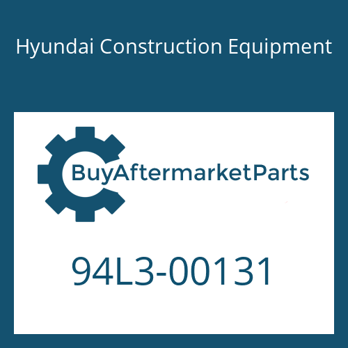 Hyundai Construction Equipment 94L3-00131 - DECAL-GREASE