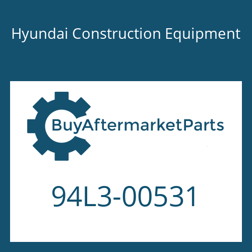 Hyundai Construction Equipment 94L3-00531 - DECAL-GREASE