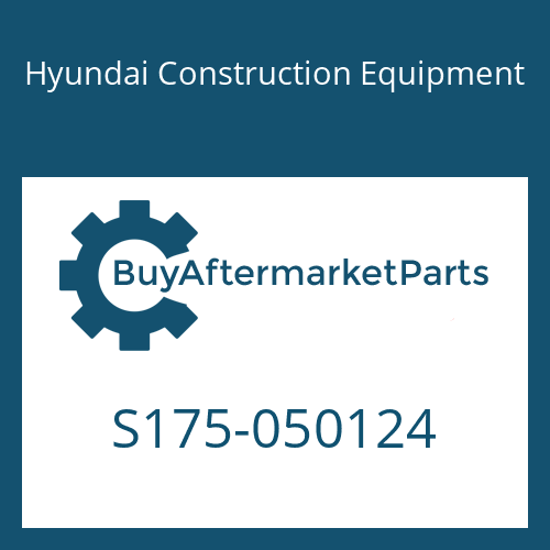 Hyundai Construction Equipment S175-050124 - BOLT-SOCKET