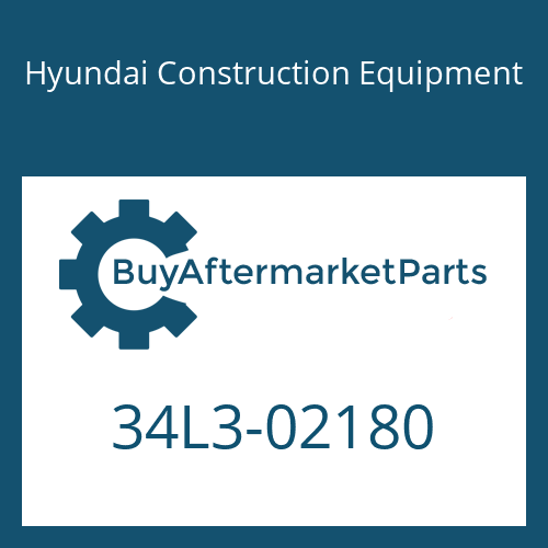 Hyundai Construction Equipment 34L3-02180 - BRACKET