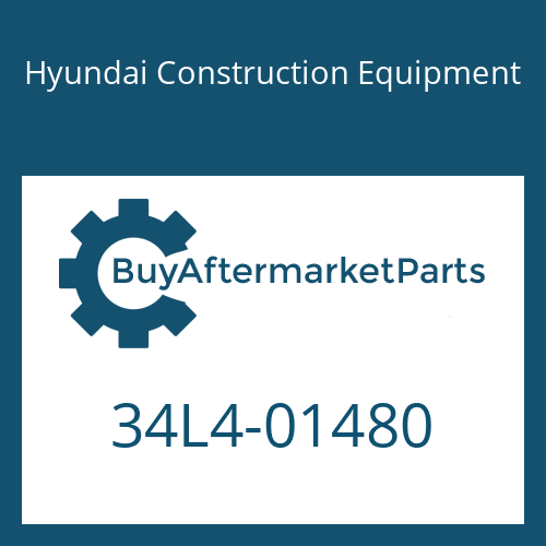 Hyundai Construction Equipment 34L4-01480 - TEE-LONG