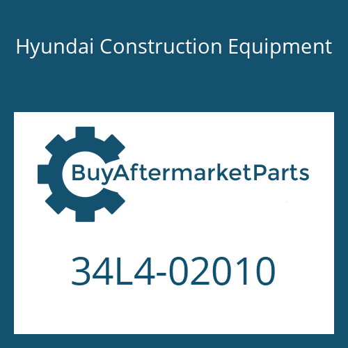 Hyundai Construction Equipment 34L4-02010 - FITTING-TEE