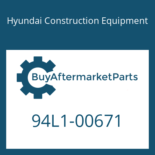 Hyundai Construction Equipment 94L1-00671 - CONTROL KIT-RIDE