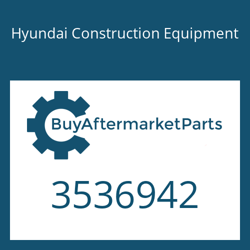 Hyundai Construction Equipment 3536942 - Housing-Turbine