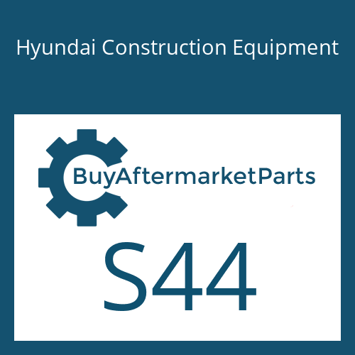 Hyundai Construction Equipment S44 - O-RING