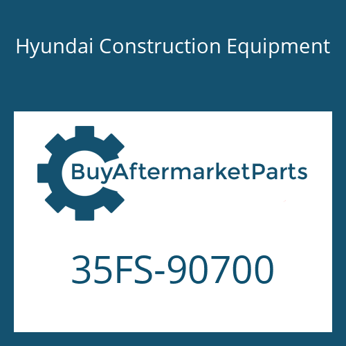 Hyundai Construction Equipment 35FS-90700 - ELBOW