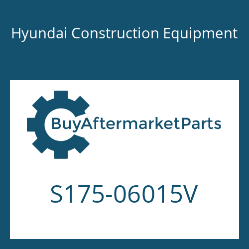 Hyundai Construction Equipment S175-06015V - BOLT-SOCKET