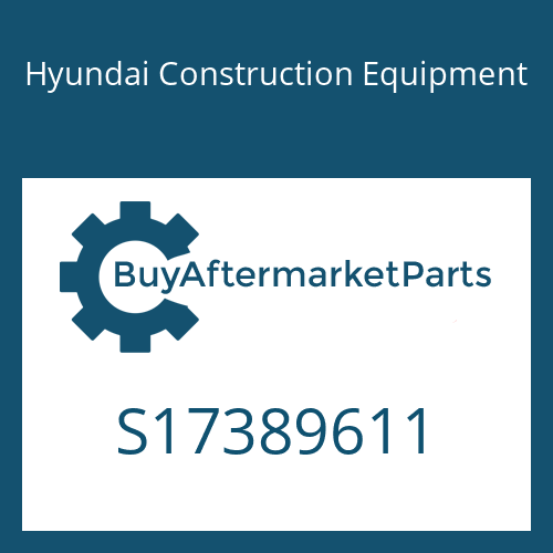 Hyundai Construction Equipment S17389611 - Fork Assy(1970)