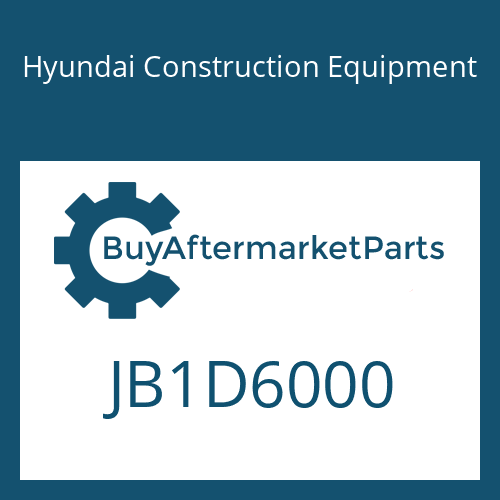 Hyundai Construction Equipment JB1D6000 - T/Motor Assy