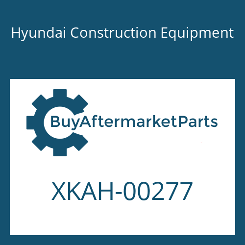 Hyundai Construction Equipment XKAH-00277 - SCREW-ADJUST