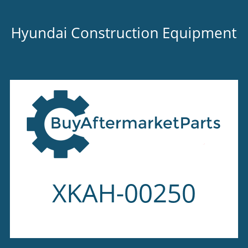 Hyundai Construction Equipment XKAH-00250 - PIN
