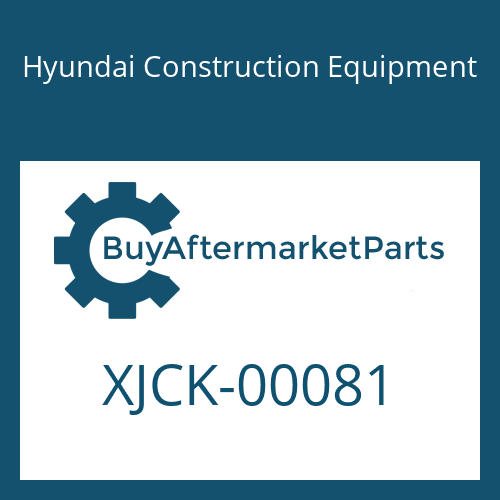 Hyundai Construction Equipment XJCK-00081 - REDUCER UNIT-TRAVEL