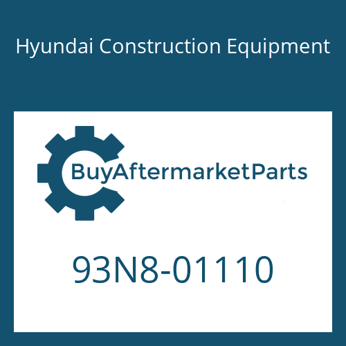 Hyundai Construction Equipment 93N8-01110 - DECAL KIT-B