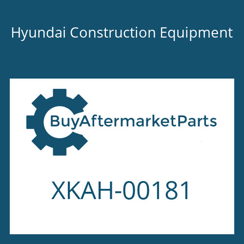 Hyundai Construction Equipment XKAH-00181 - PLATE-NAME