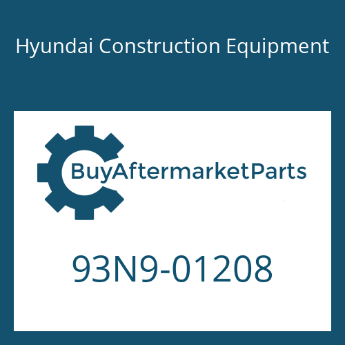 Hyundai Construction Equipment 93N9-01208 - DECAL KIT-B