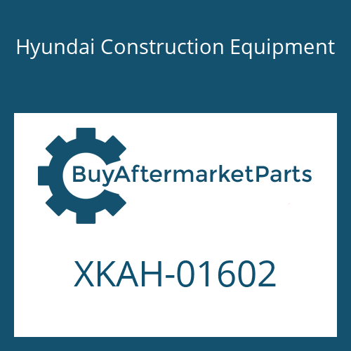 Hyundai Construction Equipment XKAH-01602 - SHAFT