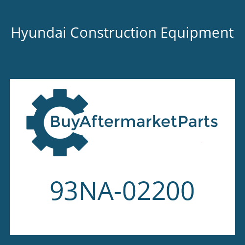 Hyundai Construction Equipment 93NA-02200 - DECAL-LIFT CHART