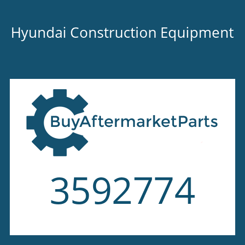 Hyundai Construction Equipment 3592774 - HOUSING-TURBO