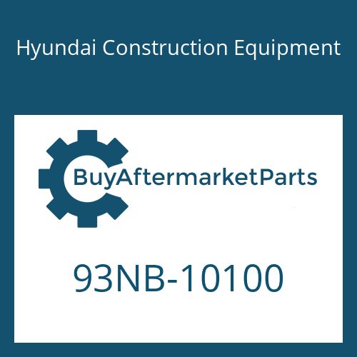 Hyundai Construction Equipment 93NB-10100 - DECAL